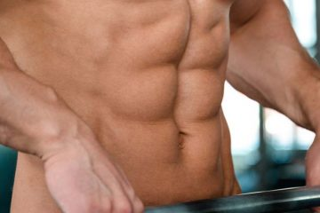 treino de abdominais