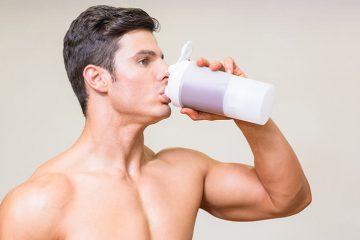 beber suplementos de proteína