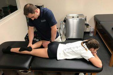 massagem desportiva às pernas