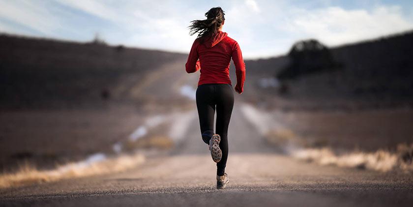 atleta a correr