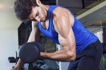 curl de biceps drop sets