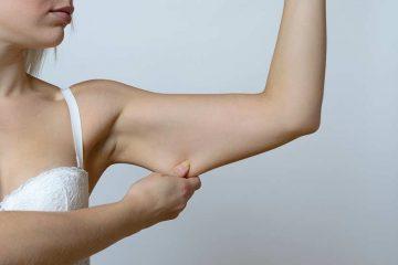 gordura no tríceps