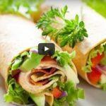 Receita: Wraps de Frango com Molho de Salsa