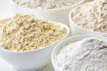 proteína de arroz em pó