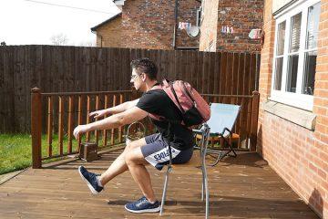 treinar pernas em casa
