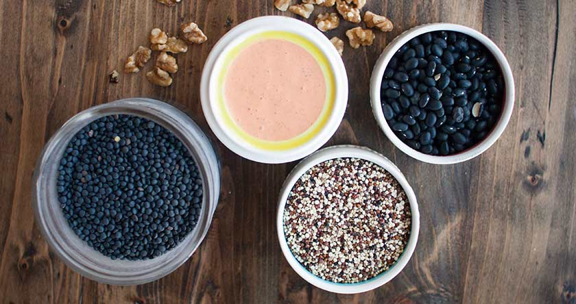 As melhores fontes de proteínas vegetais para ganhar massa muscular