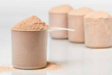 comparação de suplementos de whey protein