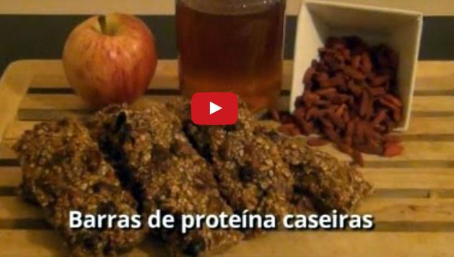 Como fazer barras de proteína caseiras