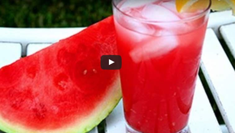 Limonada de Melancia (Bebida refrescante pós-treino)