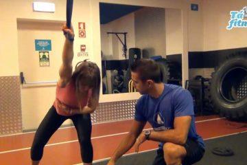 exercício de mobilidade para o ombro